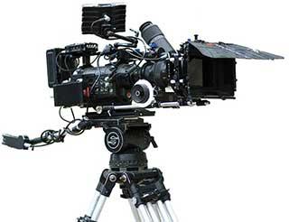 Cámara grabación cine