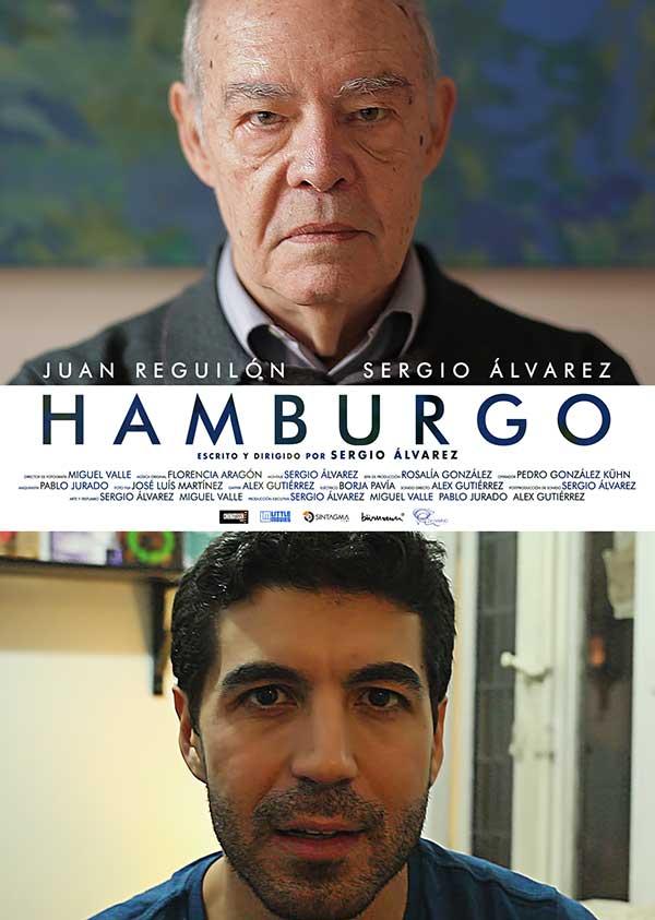 """Cartel del cortometraje """"Hamburgo"""""""
