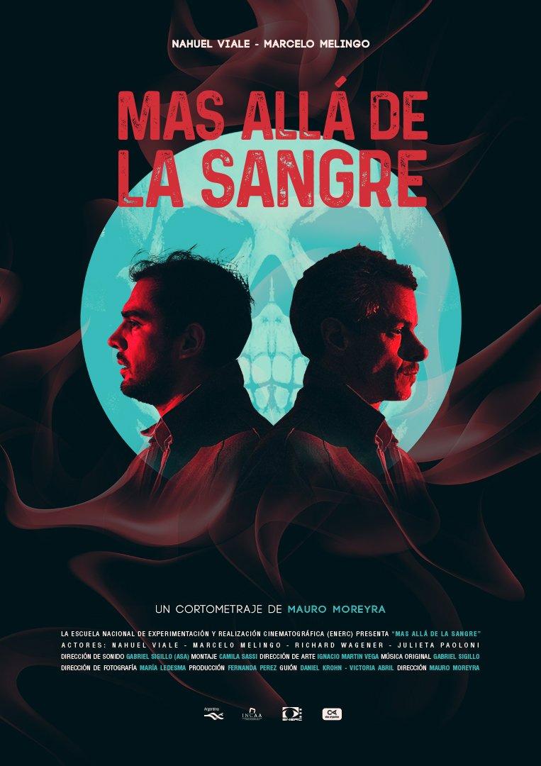 """Imagen cartel cortometraje """"Más allá de la sangre"""""""