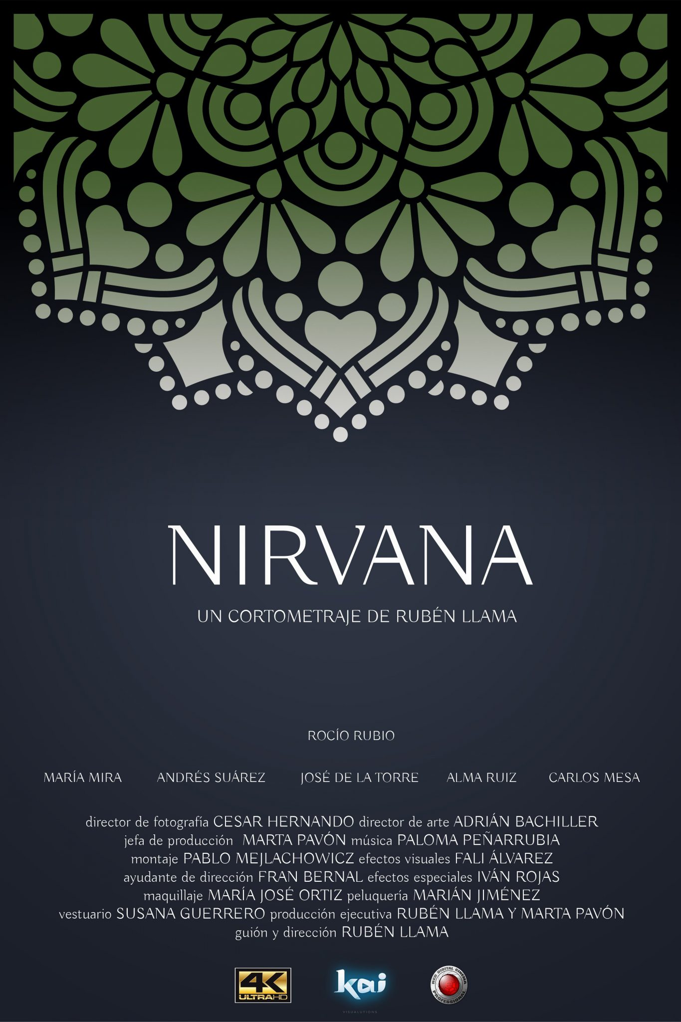 "Cartel cortometraje ""Nirvana"""