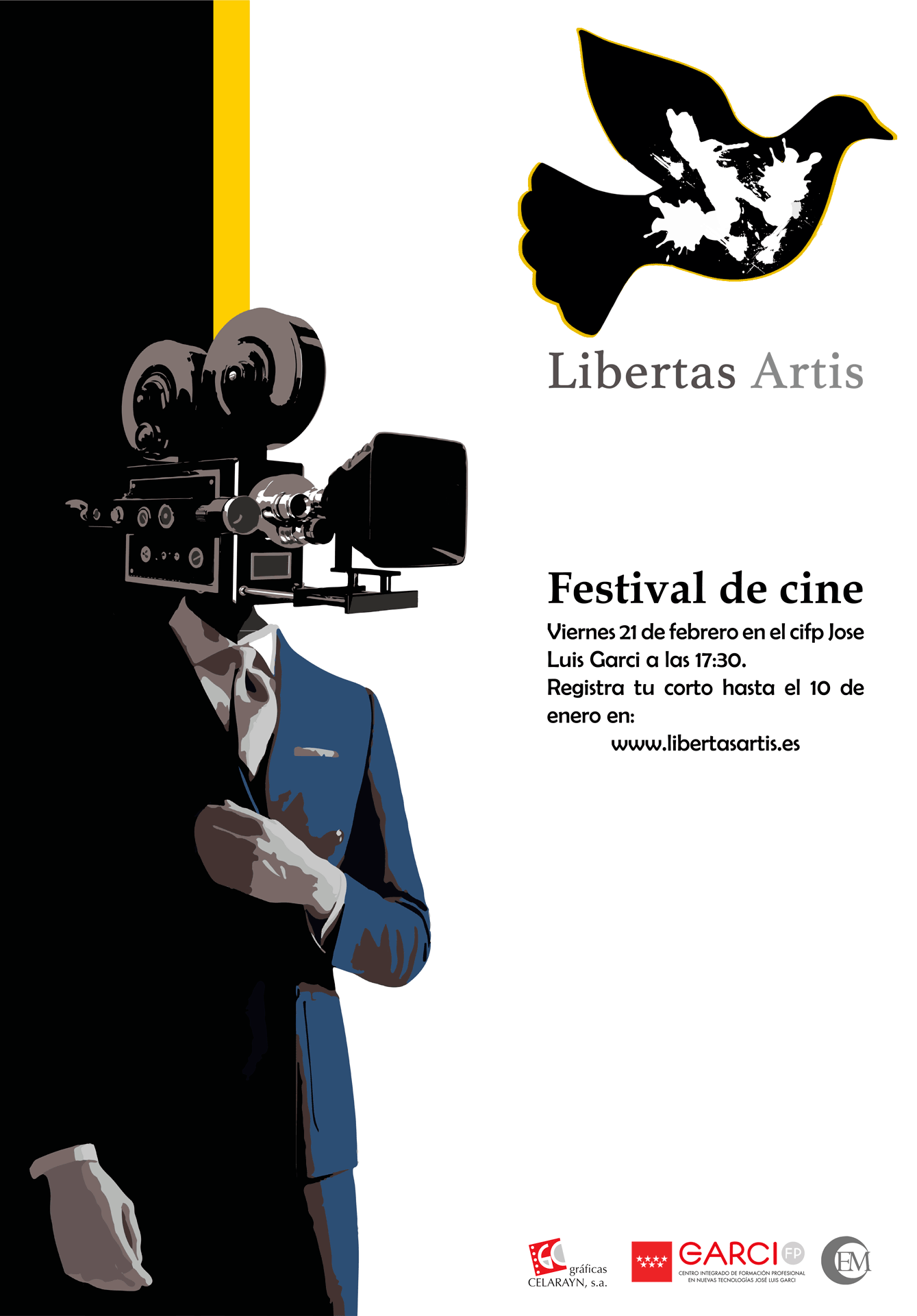 Cartel anunciador Festival de cine