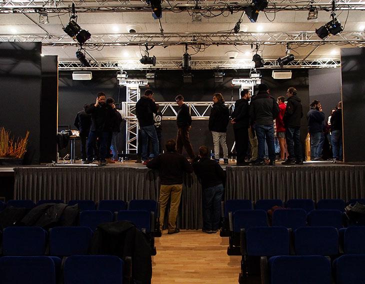 Preparación Centro cultural