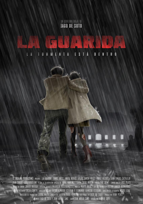 """Cartel del cortometraje """"La Guarida"""""""